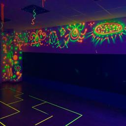 Sala Luz Negra